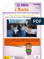 Boletín Rigoberta Menchú Número 2-Español