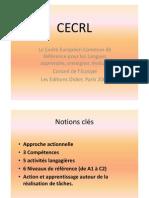 Cours CECRL - Socle Commun - Descripteurs 2011 CM