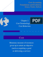 Chapter 2 Cost Terminology and Behavior