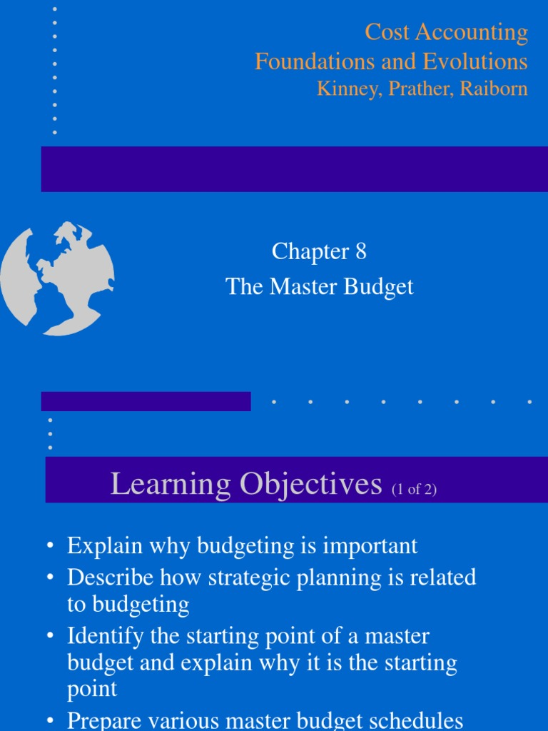 importance of master budget Advantages and disadvantages master budget as the advantages and disadvantages of each source in order to make effective decisions and coordinate the decisions and.