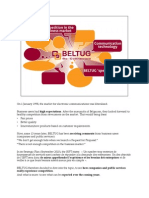 BELTUG Competition Study With Notes