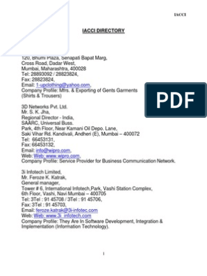 Iacci Directory
