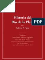 Historia Del Rio de La Plata Tomo i