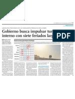 Turismo Interno en el Perú para 2012 se impulsa desde el Gobierno
