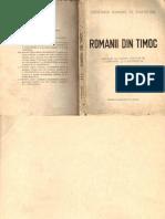 Romanii Din Timoc III