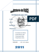 Lab Oratorio de Fisca I Caida Libre