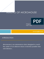 Micro Mouse Seminar