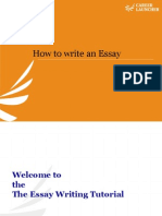 Essay Writing 2010