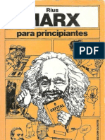 Karl Marx Para Principiantes