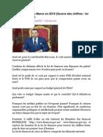 Le coût du Roi au Maroc en 2010