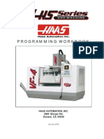 HAAS VF-HS Mill Programming Book 2005