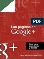 Las Páginas en Google+, guía para periodistas y medios
