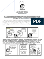 Reading Strategies Comic Strip and Rationale