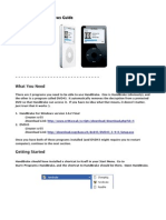 Handbrake DVD-2-iPod Guide