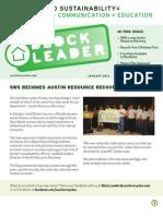 Block Leader Newsletter Winter2011