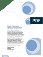 subprogramas y  procedimeintos