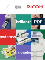 Ricoh MP C4000_5000 Brochure HR ES_20081121153928