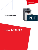 Product Guide Ineo 163_213