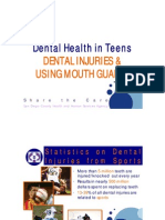 2. Teen Oral Health - Mouth Guards