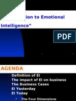 INTRODUCTION TO EMOTIONAL INTELLIGENCE