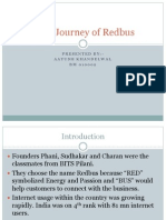 Journey of Redbus