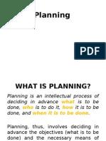3. Planning