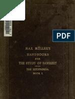 Hitopadeśa book 1 text and trans Muller
