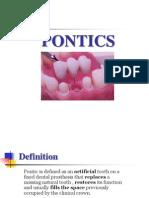 Pontics [Fixed Prosthodontics Seminar @AmCoFam]
