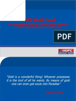 HDFC Gold Presentation