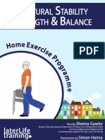 PSSB Home Exercise Programme