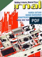 Jurnal Harga Satuan Bahan Bangunan Konstruksi Dan Interior Edisi XXX Tahun 2010-2011