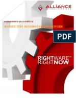 Test Automation Framework and Guidelines