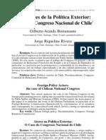 ARANDA BUSTAMANTE, Gilberto  y  RIQUELME RIVERA, Jorge. Los actores de la Política Exterior