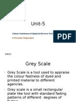 Unit 5.1 Color Fastness 1