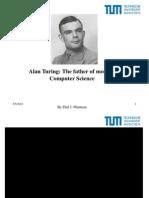Alan Turing presentation