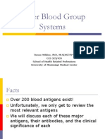 Other Blood Group Minor Antigen [Other Than the D(Rh), Cc,Ee,Etc)Systems