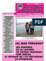 Observador Provincial - Noviembre 2011