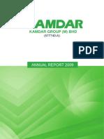 KAMDAR-Annualreport2009 (1.7MB)