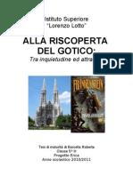 tesina sul gotico