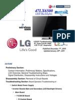 Treinamento Tvs Led Lcd Lg 3d 47lx6500