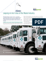 Staying on the Pulse of the Waste Industry