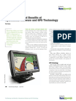 The Marriage and Benefits of Operational Software and GPS Technology