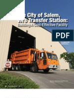 The City of Salem, VA's Transfer Station