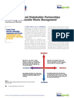 The Role of PR and Stakeholder Partnerships In Driving Sustainable Waste Management