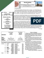 St. Michael's December 25, 2011 Bulletin