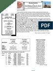 St. Michael's January 1, 2012 Bulletin
