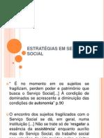 ESTRATÉGIAS EM SERVIÇO SOCIAL oficina da prática