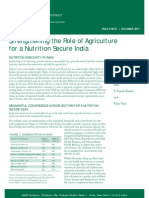 Nutrition Insecurity in India