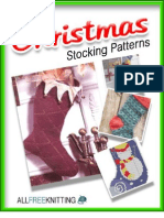 5 Knit Christmas Stockings