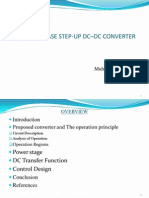 THREE-PHASE STEP-UP DC–DC CONVERTER